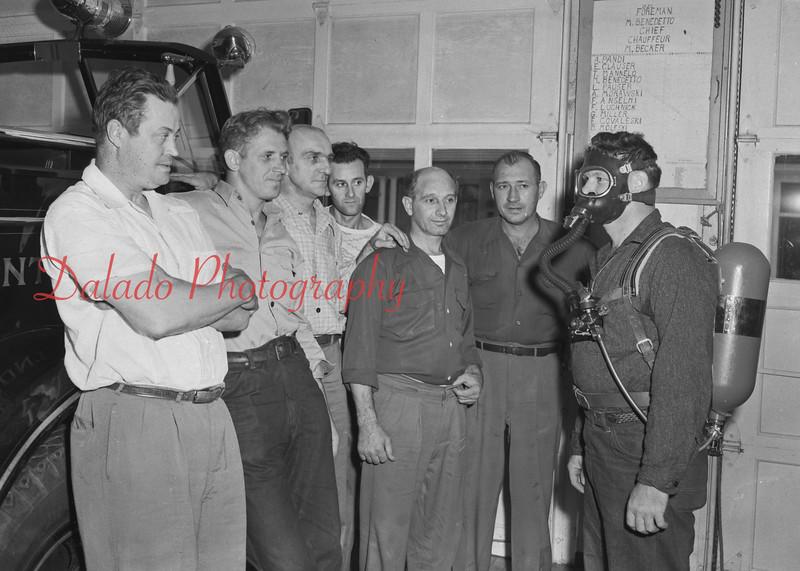 (1952) Kulpmont training by Mr. Benedetto.