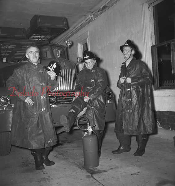 (Oct. 1957) Kulpmont firemen.