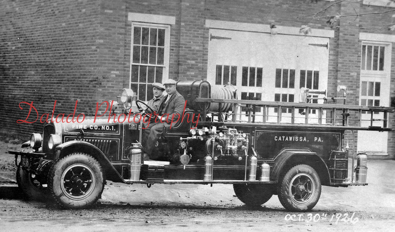 (10.30.26) Catawissa fire engine.