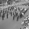 (07.12.53) Prize-winning parade team of the West End Fire Co., Kulpmont, led by the Our Boy's Band, also of Kulpmont, during the Golden Jubilee Parade of the Six-County Firemen's Association conducted in Hazelton.
