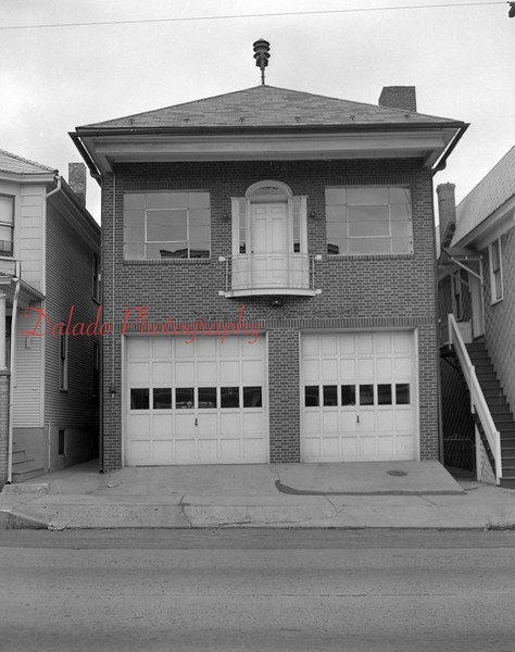 Old station of West End Fire Company along Chestnut Street.