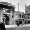 """(12.16.1916) Fair Store Fire- Around 9 p.m., just weeks before Christmas, a 17 year-old grocery boy by the name of Ralph Pensyl was heard yelling """"Fire! Fire! Fire! The stores on fire!"""" as he ran down Independence Street. Just five hours later, both sides of the block would be destroyed by flames, leaving 80 people homeless...[The old Victorian Movie Theatre (future site of CVS) is shown here.]"""