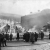 (12.16.1916) Fair Store Fire- The fire was so intense, that it caught the other side of the block of fire.