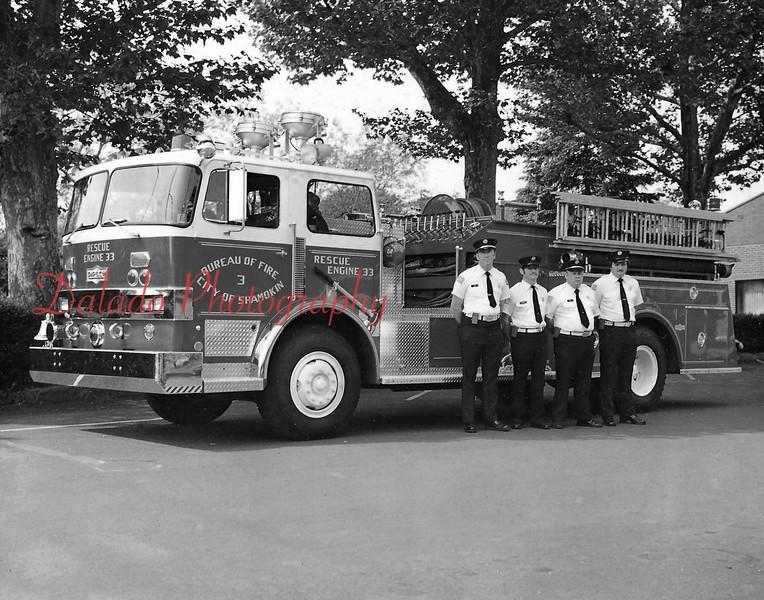 Rescue Fire Company- Engine 33.