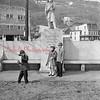 (1959) Kids at the Firemen's Memorial.