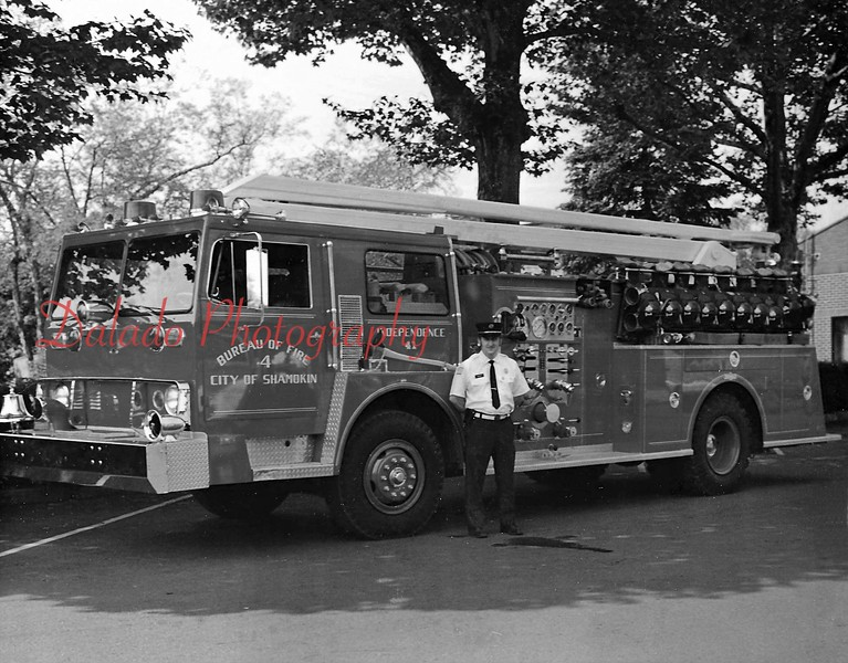 Independence Fire Company - The City purchased the fire engine in 1967 by using funds from two $100,000 bonds.