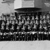 (05.30.41) Copy of a panoramic of Brady Fire Co. members.