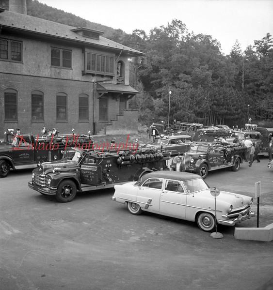 Coal Township engines. (Shamokin Citizen photo, unknown year.)