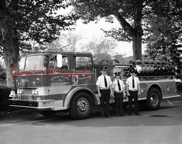 West End Fire Company - The City purchased the fire engine in 1967 by using funds from two $100,000 bonds.