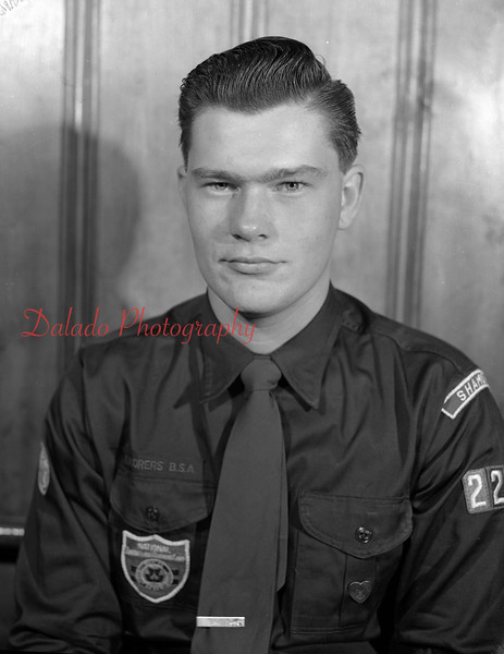 Boy Scout J. Anderson.