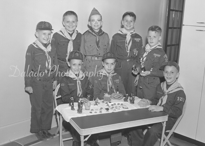 (1961) Scouts from Pack 3253.