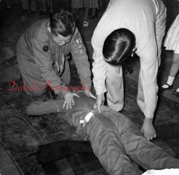 Boy Scout training.