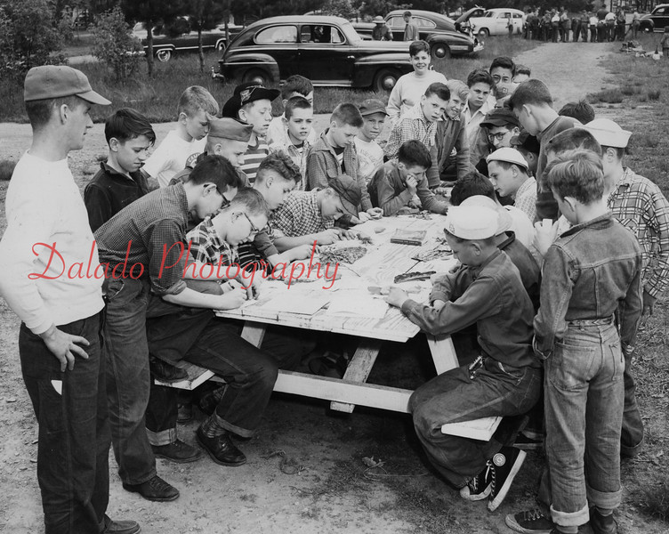 (1955) Boy Scout nature.