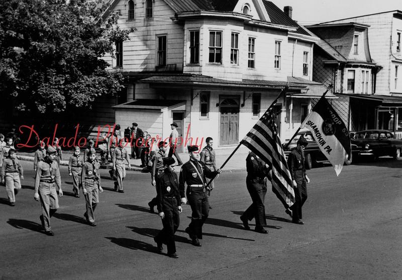 Boy Scout parade.