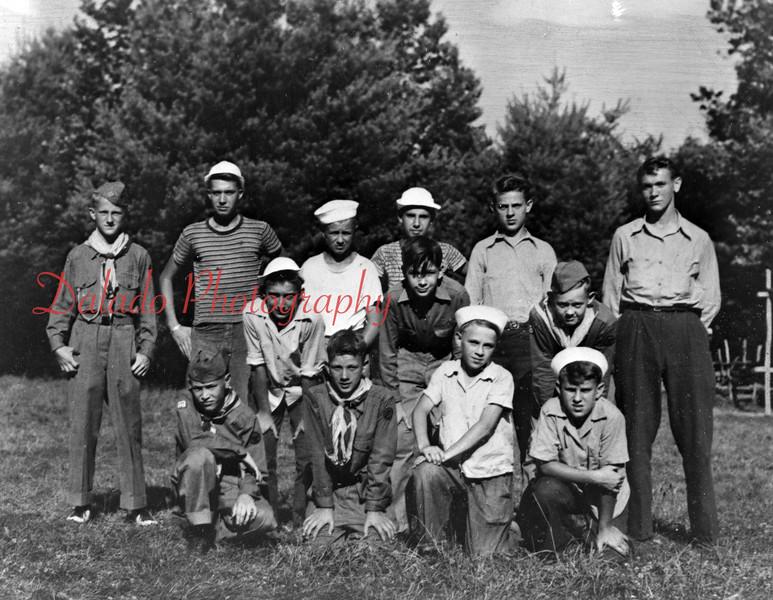 Unknown Boy Scout Troop.