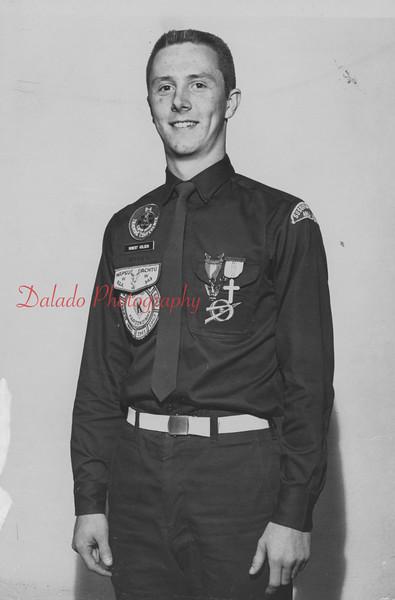 Boy Scout Robert Golden.