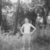 (1955) Boy Scout hike.