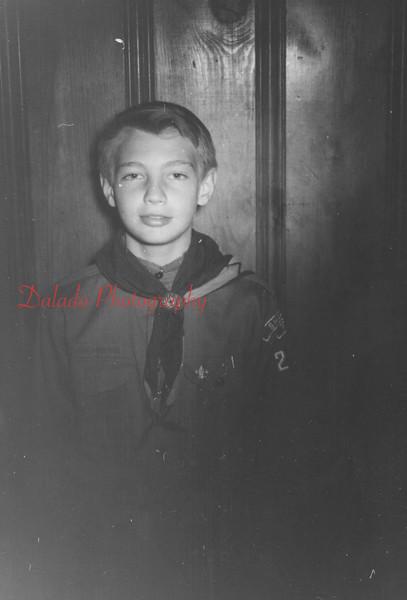 (May 1958) Boy Scout.