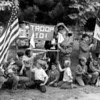 (May 1958) Boy Scout Troop 101 camping.