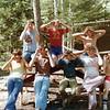 (July 1977) Boy Scout trip to Camp K.