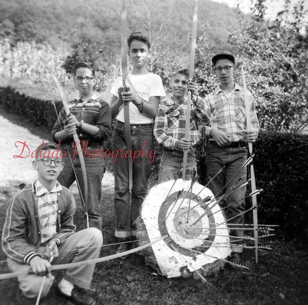 (1959) Boy Scouts archery.