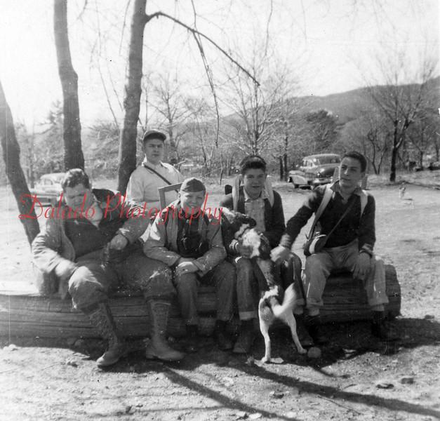 (1957) Boy Scout trip.
