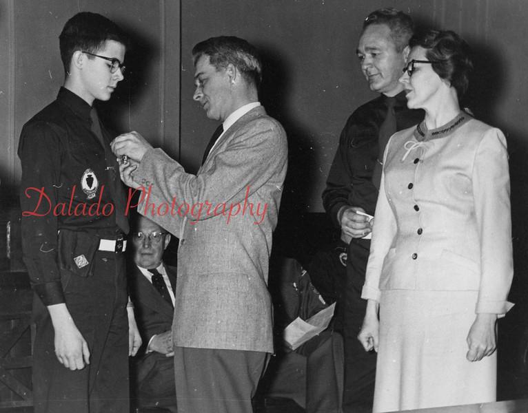 Boy Scout award.
