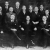 (1919) This photo shows the first Shamokin Boy Scout Council, organized in 1919, four years after the first troop was established in Shamokin. Pictured are, front row, from left, Edward Schrawder, William Helfenstein, Patrick Friel, Chester Robertson, George Higgins, Frank Gable and George C. Graeber; second, Judge Fred B. Moser, Robert Kocher, Dr. J.M. Maurer, W.C. McConnell, Rev. John Heffner, Emil Sanner, H. Wilson Lark, Rev. Will H. Horrigan and Edward Gearhart; third, Joseph McCormick, A. Wallace Brown, Thomas Price, William Auman, William J. Wiest, Ralph Zimmerman, Attorney William Unger and Harry Schlanger.