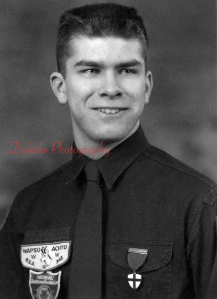 (Feb. 1960) Boy Scout James Herrold.