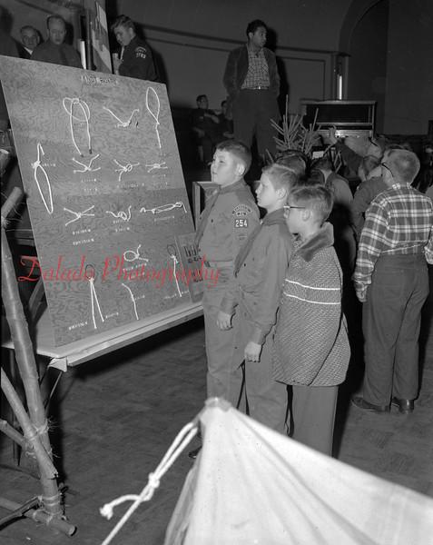 (Oct. 1956) Boy Scouts.