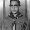 Boy Scout Larry Hoffmaster.