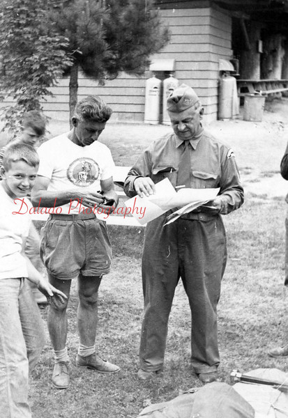 (July 1957) Boy Scout Camp K.