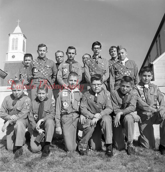(Sept. 1964) Boy Scouts from a Kulpmont troop.