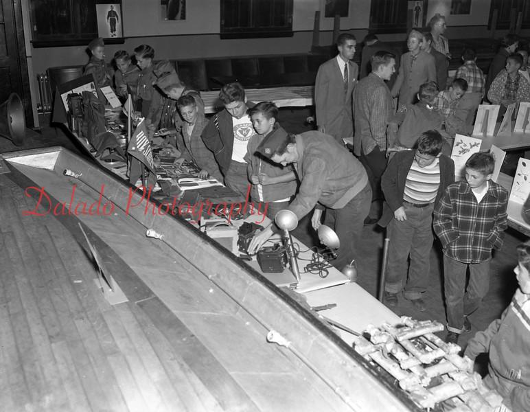 (1956) Boy Scout event.