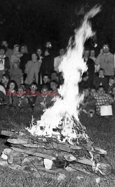 Boy Scout campout.