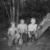 (1953) Boy Scout campout.