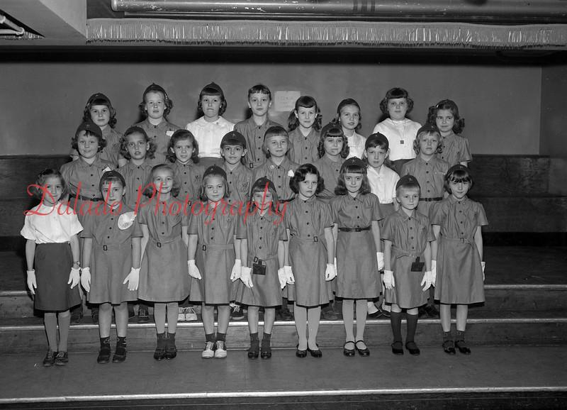 (1962) Brownie Troop.
