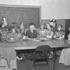 (1959) Girl Scouts during Halloween.