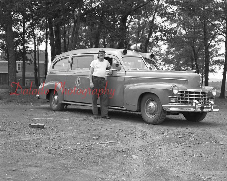 (1953) Kulpmont Ambulance by the Lions Club.