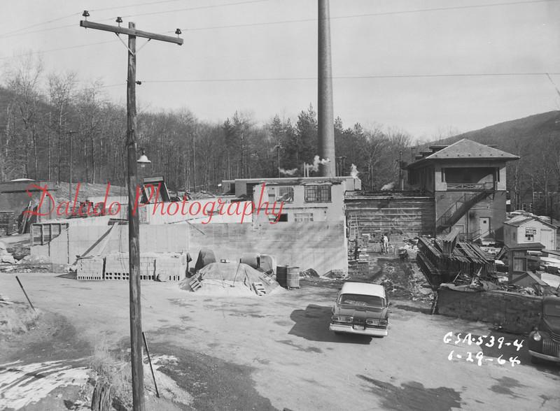 (Jan. 1964) Shamokin Hospital work.