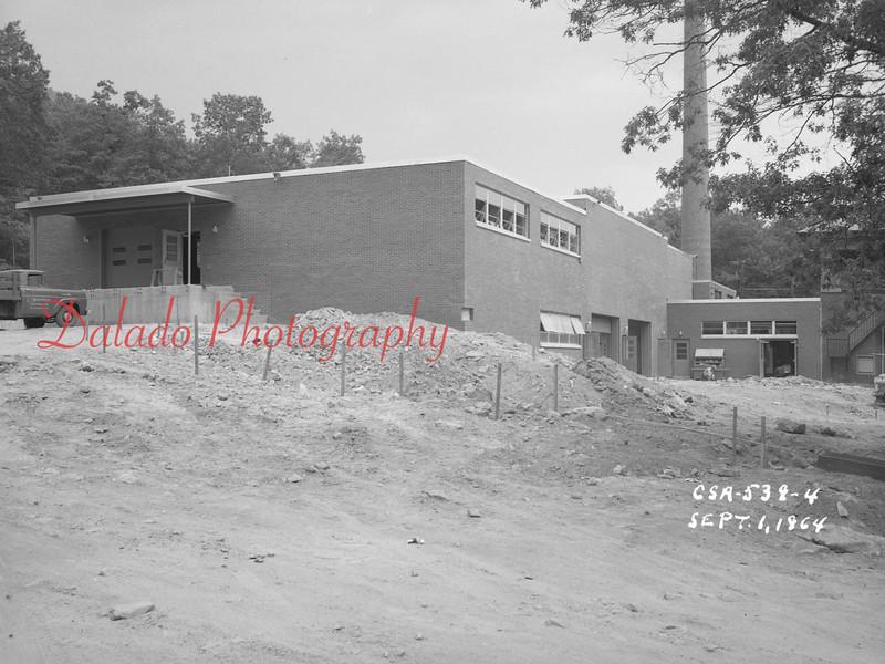 (Sept. 1964) Shamokin Hospital work.