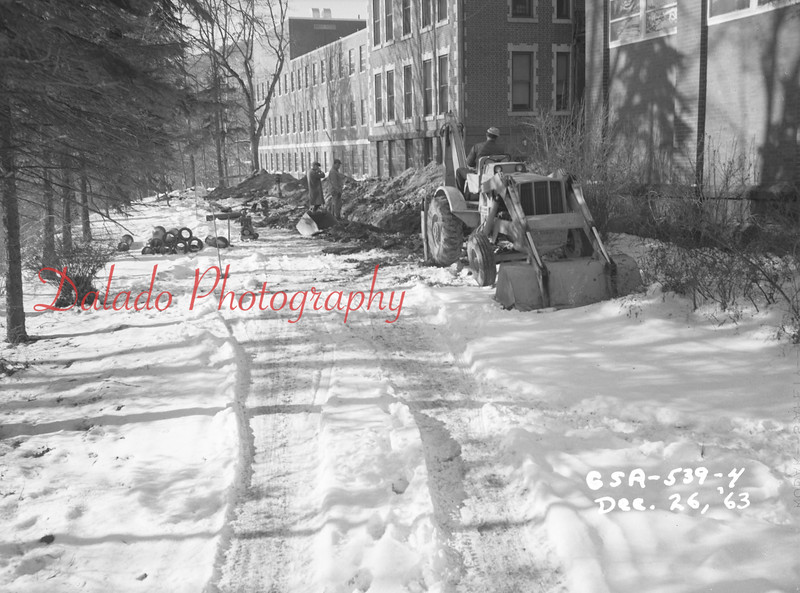 (Dec. 1963) Shamokin Hospital work.