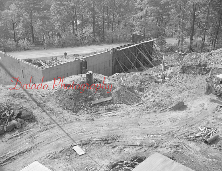 (1968) Shamokin Hospital construction.