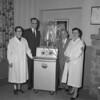 (Aug. 1954) Shamokin Hospital Auxiliary with new equipment.