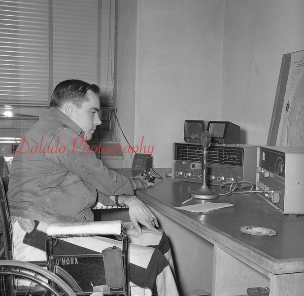 (Oct. 1960) VNA Hospital in Wilkes-Barre, Paul O'Hora.