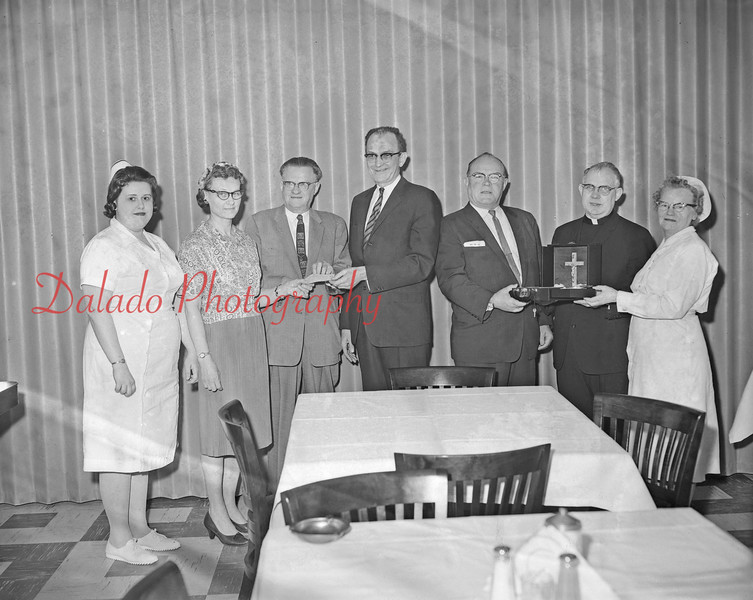 (1963) Hospital group, unknown.