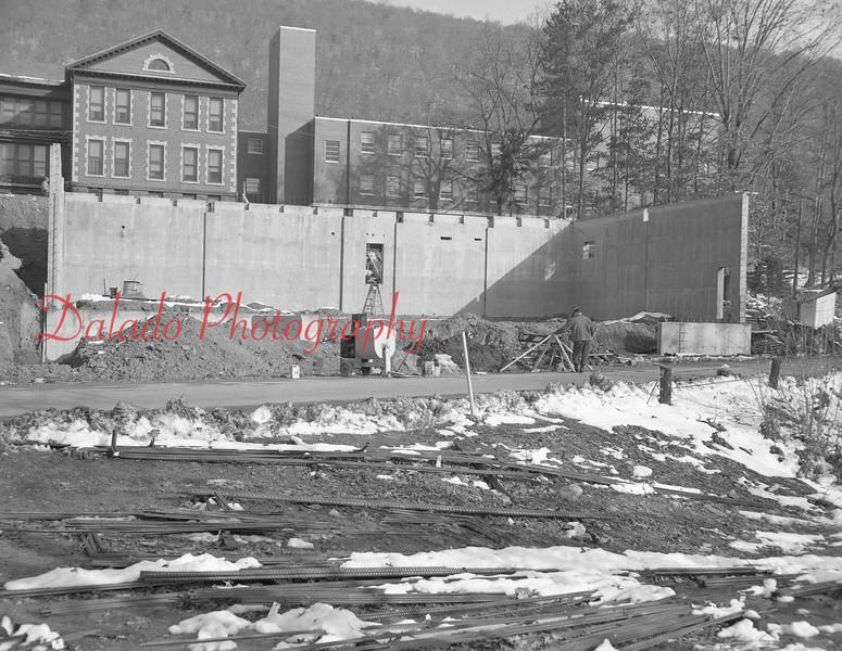 (1968) Hospital construction.