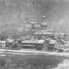 Vintage photo of the Shamokin Hospital.