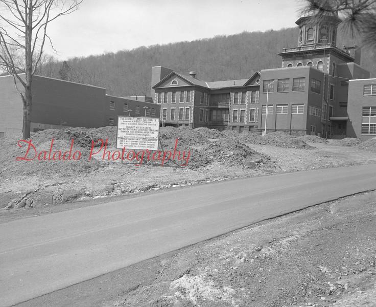 (April 1970) Shamokin Hospital.