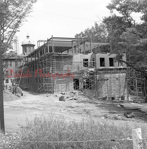 (July 1960) New wing at Shamokin Area Community Hospital.
